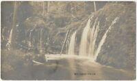 Mossbrae Falls Sacramento River Northern California Vintage Real Photo Postcard