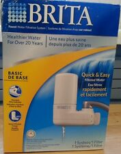 Brita Faucet Water Filtration System New Box Is not Perfect but System is Unused