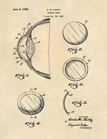 Contact Lens Optometrist US Patent Art Print - Vintage Optometry Antique - 679