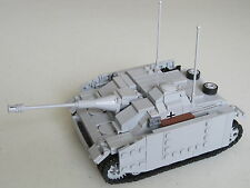 Lego WW2 GERMAN StuG III ausf. G Armored TANK Artillery NEW