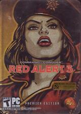 PC DVD-ROM Game: COMMAND & CONQUER RED ALERT 3 Premier Edition 3 Discs STEELBOOK