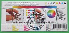 Nederland NVPH 2011 blok 100 jaar KVGO 2001 gestempeld