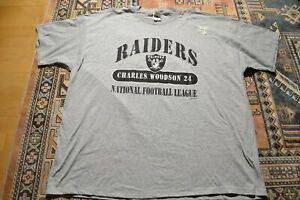 New Oakland Las Vegas Raiders Charles Woodson 2000 #24 NFL Shirt Jersey Mens 3XL