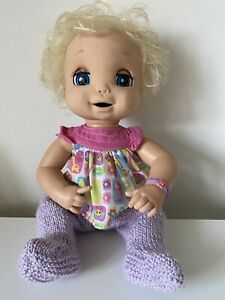 HASBRO 2006 Baby Alive Interactive Doll Soft Face