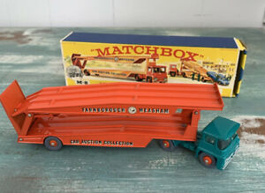 Matchbox Car M-8 Transporter - Farnborough Measham Car Auction - Mint