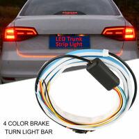 "47"" Car Truck RGB LED Strip Tail Light Brake Turn Signal Flow lights Lamp 12V"