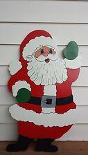 Waving Santa Claus Christmas Yard Art Decoration -- 3 Sizes to Choose From