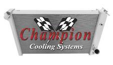 3 Row Ace Champion Radiator for 1973 1974 1975 1976 Chevrolet Corvette V8 Engine