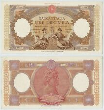 """REPUBBLICA ITALIANA - 10000 Lire """"Repubbliche Marinare"""" 05.05.1952  qFDS"""