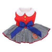 Doggie Design Sailor Girl Designer Dog Dress with Matching Leash XS-L