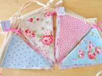 BUNTING Vintage Home Wedding Party Decorations Cath Kidston Banner Garland 8FT