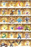 Pokémon GO Trade - ALL LEGENDARY POKEMON - LUCKY CHANCE - REGISTERED TRADES ONLY