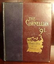 The Cornellian 1890 Cornell University Year Book Ithaca College Ivy League