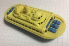 "Vintage 1950's Renwal No. 140 Hard Plastic ""Ferry"" Ship on Wheels"