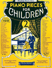 """""""Piano Pieces for Children-Volume 2"""" PIANO/KEYBOARD MUSIC BOOK-BRAND NEW ON SALE"""