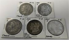 1896, 1898 - 1901 S Morgan dollars - Scarce Later Dates - 5 coins