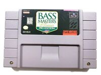 Bass Masters Classic - SNES Super Nintendo Game Tested - Working - Authentic!