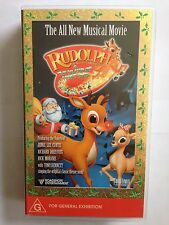 RUDOLPH THE RED NOSED REINDEER & THE ISLAND OF MISFIT TOYS ~ VHS VIDEO