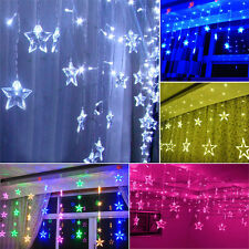 3M/138LED Fairy String Star Light Lamp Wedding Party Outdoor Indoor Home Decor
