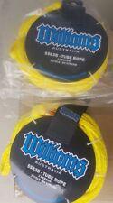 water ski tube yellow ropes  x  2  rider 1200kg strong williams