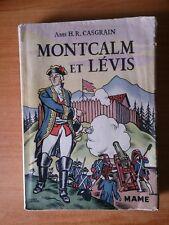 MONTCALM ET LEVIS guerre du Canada (1756-1760)