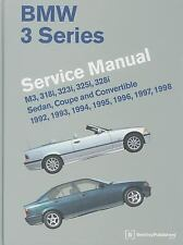 BMW 3 Series Service Manual~M3~318i~323i~325i~328i~Sedan~Coupe~Con~760 pg~NEW HC