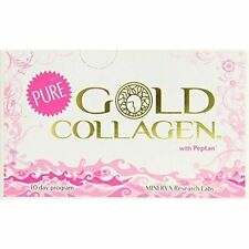 Minerva Research Labs Pure Gold Collagen 10 Day Programme X3 30 Days Supply