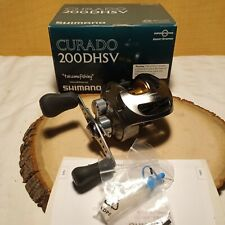 New listing Shimano Curado 200 Dhsv. Mint condition, including box and extras