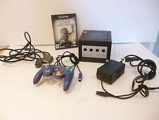 ♠ Console Nintendo Game Cube Noir Complete + Un Jeu ♠ Test Ok ✅