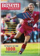 Bayern Magazin 5/46 , Bayern München - Eintracht Frankfurt , 15.10.1994