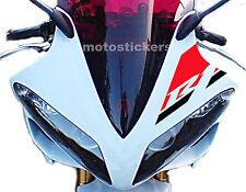 Yamaha R1 2004-2006 adhesivo bicolor para parabrisas - racing calcomanías