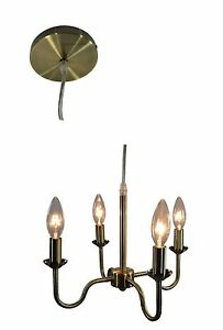 Urbanest Shire 4-light Chandelier, Hardwared, 5 Finishes Available