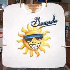 SMILEY SUN FACE Custom Airbrushed T-shirt All Sizes Up to 6X