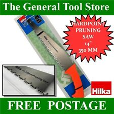"TREE BRANCH SAW FOR PRUNING 14"" HARDENED TOOTH CUTS ON PUSH AND PULL"