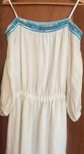 Emilio Pucci longue robe d'été fantastique taille 38/40 lin Festival Hippie