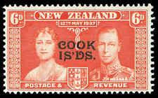 Scott # 111 - 1937 -  ' Queen Elizabeth & King George VI ', New Zealand # 225