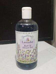 NEW Crabtree & Evelyn Lavender Drawn from Nature Bath & Shower Gel 16.9 fl oz