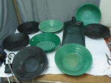 New listing Lot Of Garretts Gravity Trap Combination Sifters And Trays ! Y30