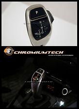 BMW serie 5 E39 E53 X5 Cromo LED Shift GEAR KNOB para RHD con luz de posición del engranaje