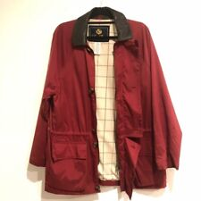 Loro Piana Men's horsey jacket red leather collar