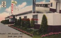 Postcard El Grande Motel South Gate CA