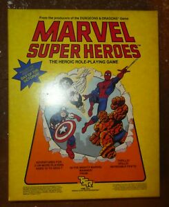 Marvel RPG Super Heroes TSR Day of the Octopus Unpunched role playing Game