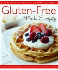 NEW Gluten-Free Made Simple: Easy Everyday Meals That Everyone C.. 9780312550660