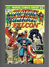 CAPTAIN AMERICA  # 171   ( 1974 )   BLACK PANTHER!  MARVEL COMICS  SHARP COPY!