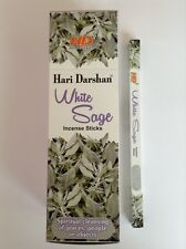 Wholesale Hari Darshan Ethical Incense 200 Stick Box White Sage Fragrance
