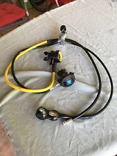 Aqua Lung Glacia Regulator, Octo and Cressi Instruments Scuba Diving Set