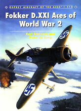 OSPREY AOA 112 FOKKER D.XXI ACES WW2 FINLAND ML-KNIL DUTCH LUCHTVAARTAFDELING