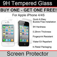Premium Quality Tempered Glass screen protector for Apple iPhone 4/4s