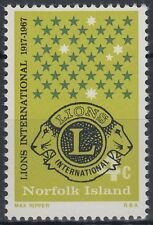Norfolk 1967 ** Mi.93 Lions International [sq6957]