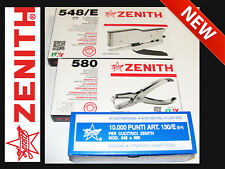 KIT Zenith-Pinzatrice Stapler 548E +110.000 Punti staples+Levapunti 580 remover